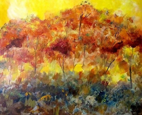 A Colorful Burst by Delilah Smith