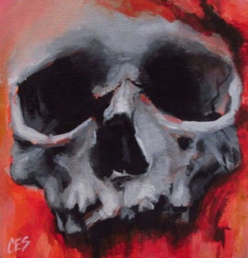 Halloween Skull by CES