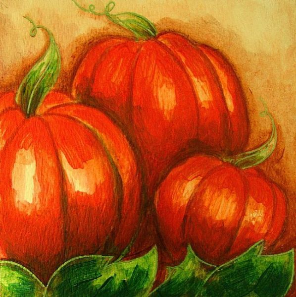 Pumpkins by Cyra R Cancel