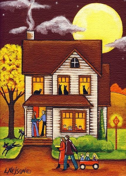 Thanksgiving Dinner by Lisa M Nelson