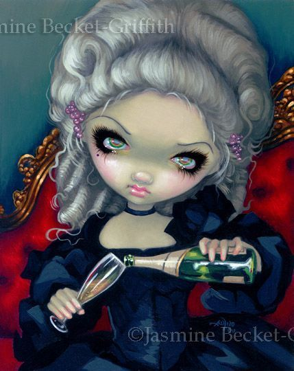 Have Some Champagne by Jasmine Becket-Griffith