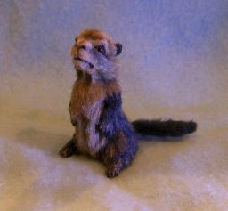 1/12th Scale Groundhog by Camille Meeker Turner