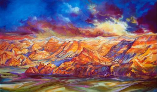 Red Rock Canyon by Marcia Baldwin