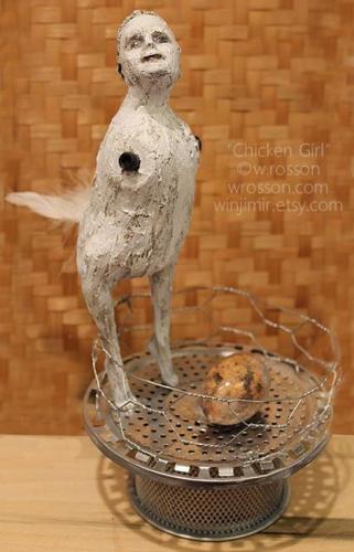 Chicken Girl by Windi Rosson