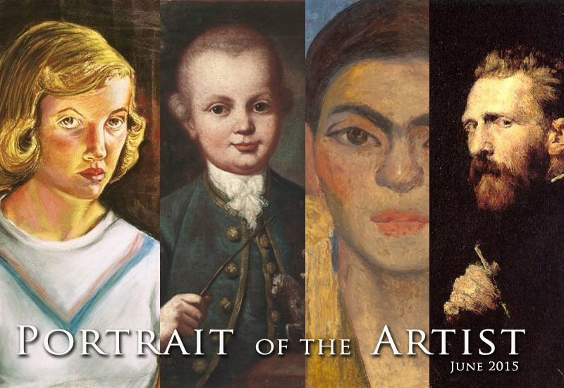 Portrait of the Artist: EBSQ June Exhibit