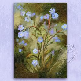 Forget-Me-Nots by Patricia Lee Christensen