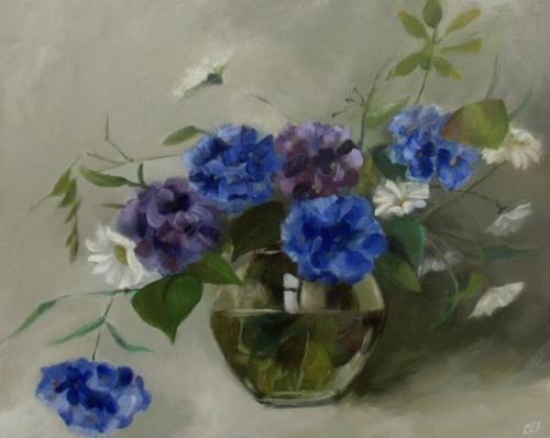 Hydrangea Bouquet by C.E.S